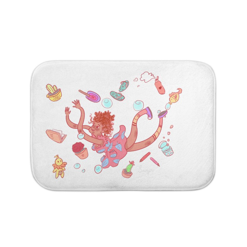 LET GO! Home Bath Mat by sawyercloud's Artist Shop