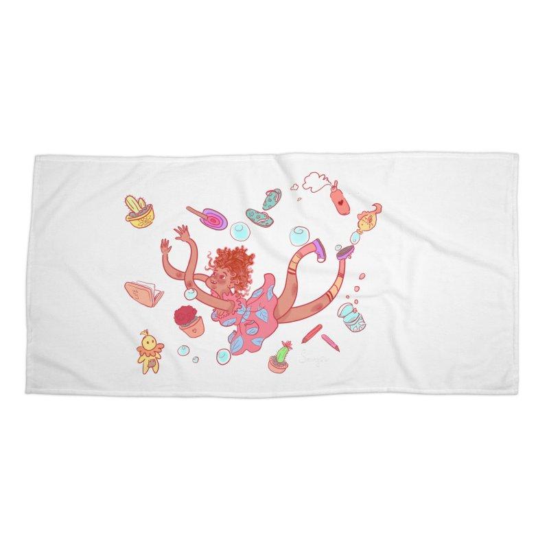 LET GO! Accessories Beach Towel by sawyercloud's Artist Shop