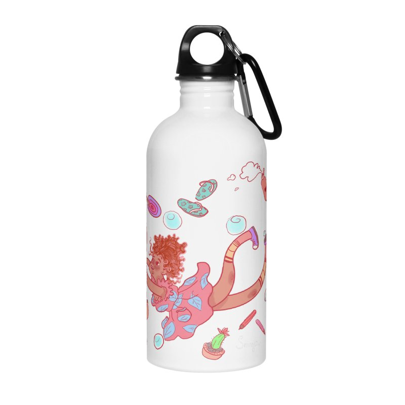 LET GO! Accessories Water Bottle by sawyercloud's Artist Shop