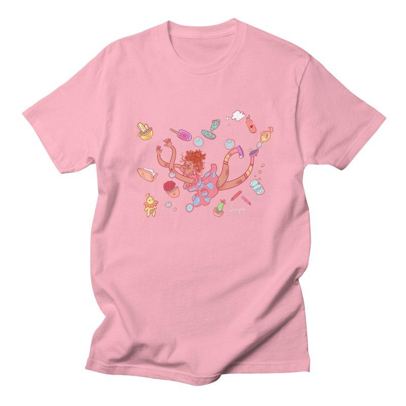 LET GO! Women's Regular Unisex T-Shirt by sawyercloud's Artist Shop