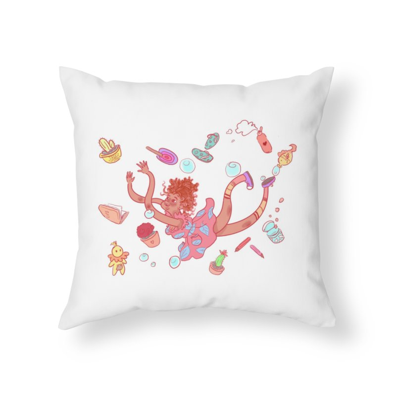 LET GO! Home Throw Pillow by sawyercloud's Artist Shop