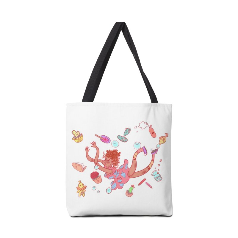 LET GO! Accessories Tote Bag Bag by sawyercloud's Artist Shop