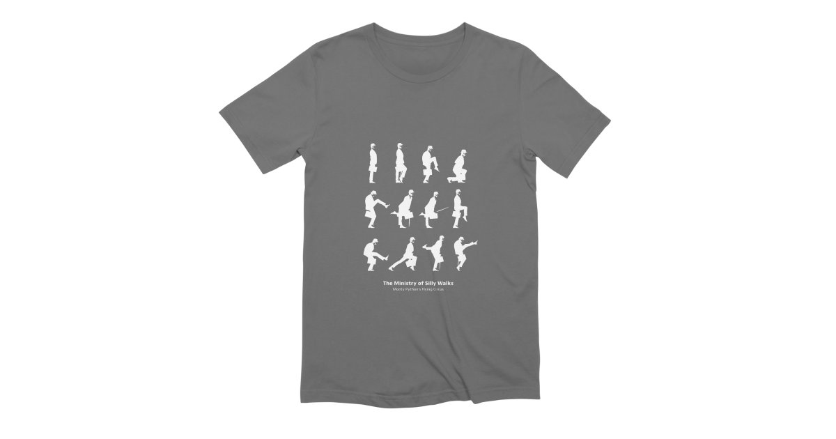 a38a1bbb sazo ministry-of-silly-walks-2 mens t-shirt