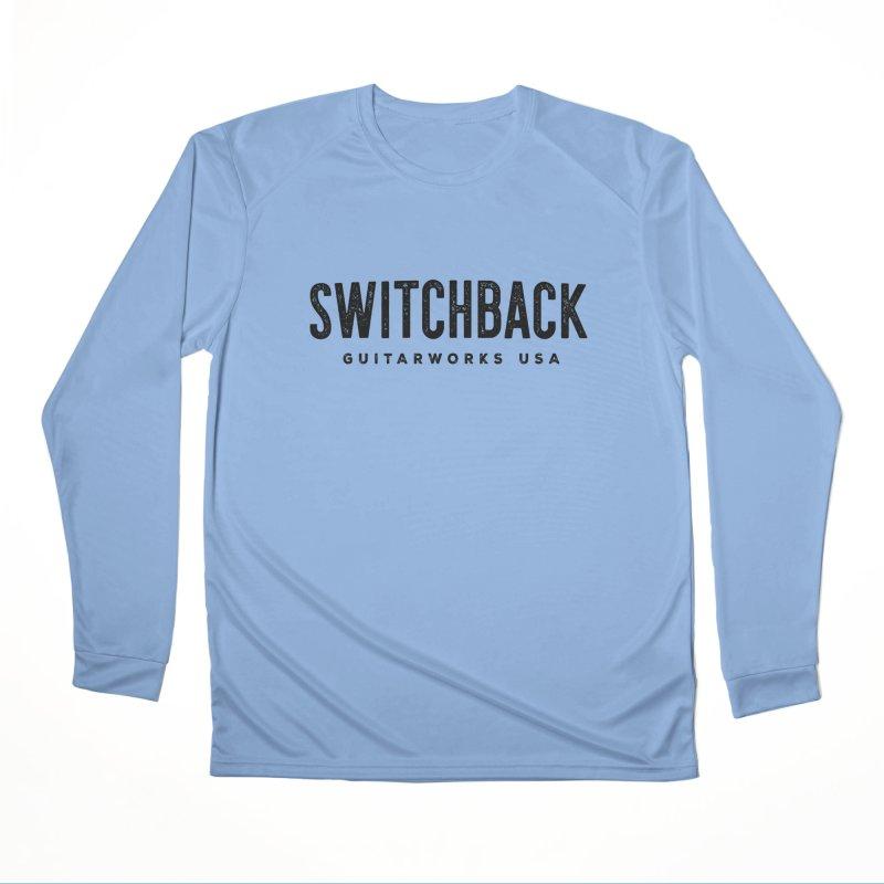 Grungy Text Tee Women's Longsleeve T-Shirt by Switchback Guitarworks USA