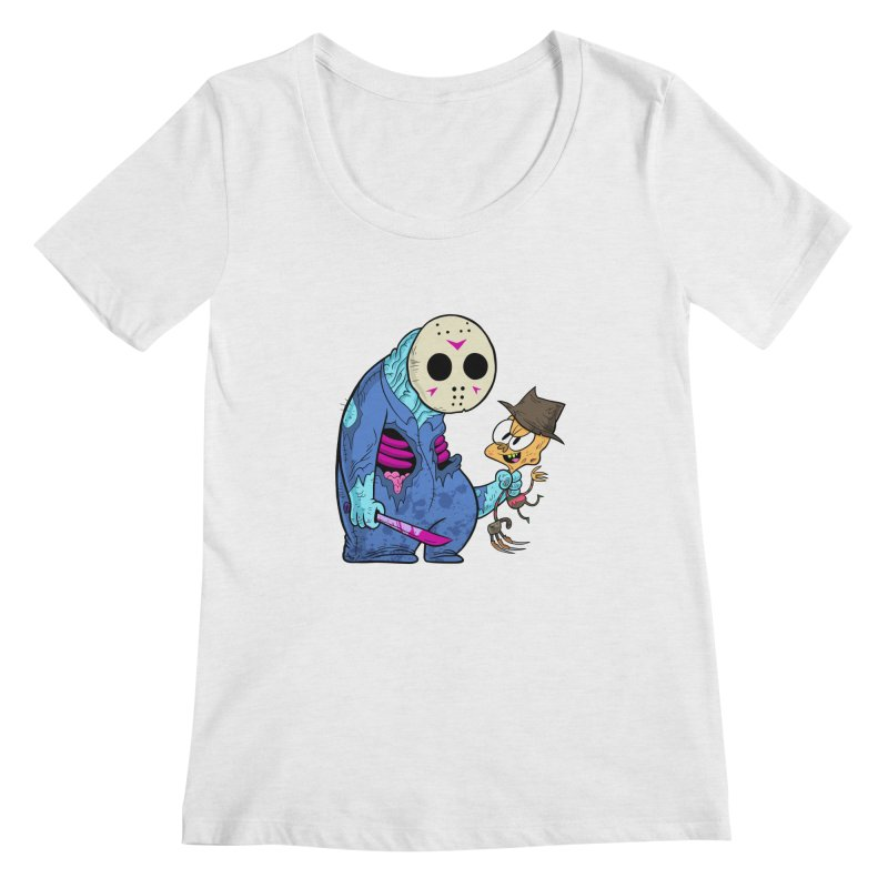 freddy the 13th Women's Regular Scoop Neck by scabfarm