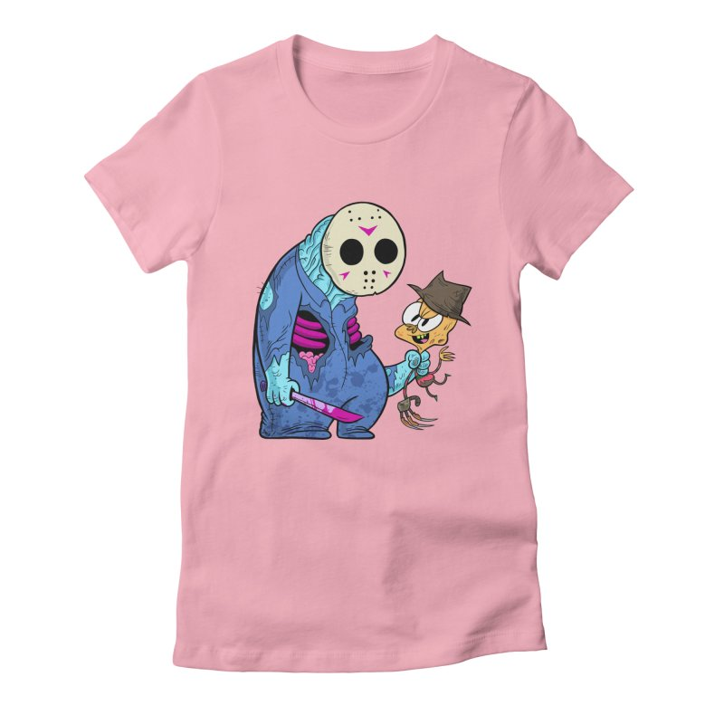 freddy the 13th Women's Fitted T-Shirt by scabfarm