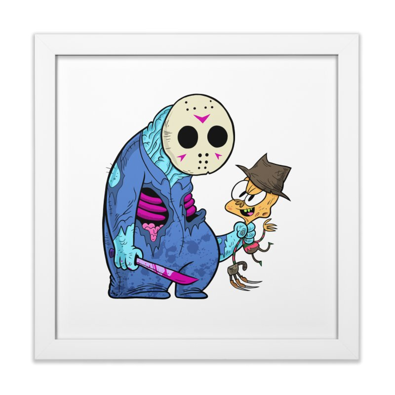 freddy the 13th Home Framed Fine Art Print by scabfarm
