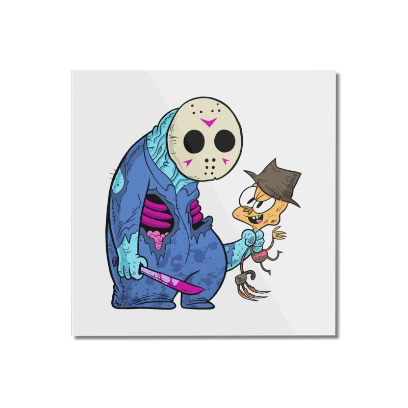 freddy the 13th Home Mounted Acrylic Print by scabfarm