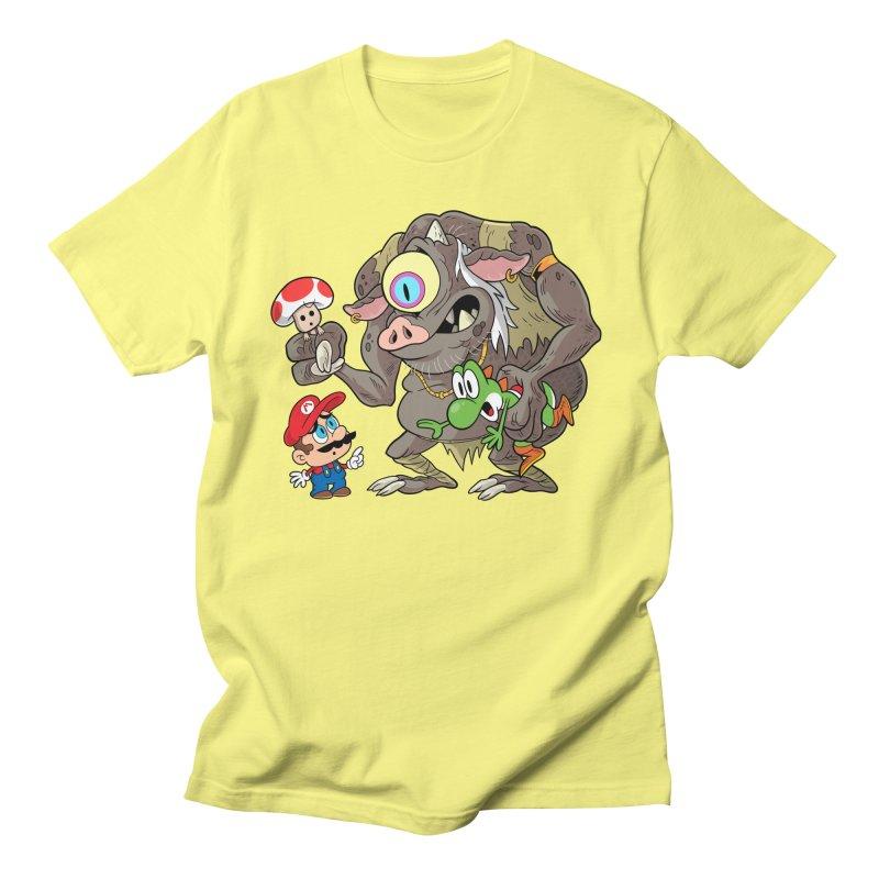odyssey Men's T-Shirt by scabfarm