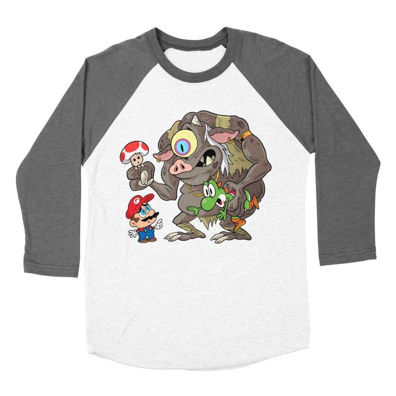 odyssey Men's Baseball Triblend Longsleeve T-Shirt by scabfarm