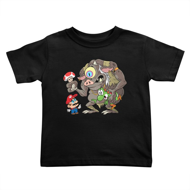 odyssey Kids Toddler T-Shirt by scabfarm