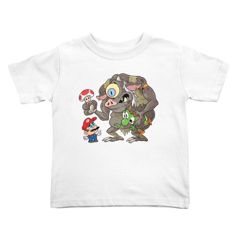 odyssey Kids Toddler T-Shirt by scabfarm