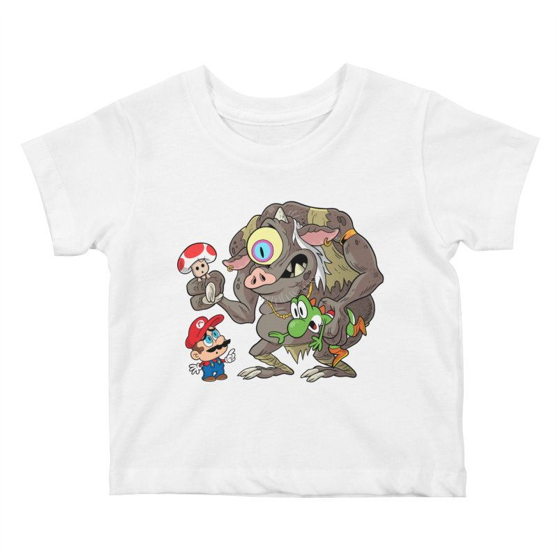 odyssey Kids Baby T-Shirt by scabfarm