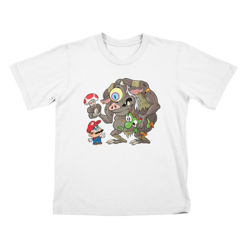 odyssey Kids T-Shirt by scabfarm