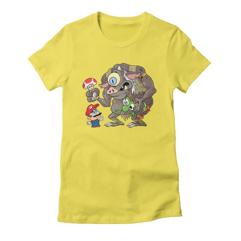 odyssey Women's T-Shirt by scabfarm
