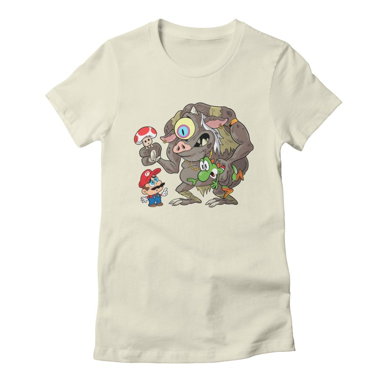 odyssey Women's Fitted T-Shirt by scabfarm