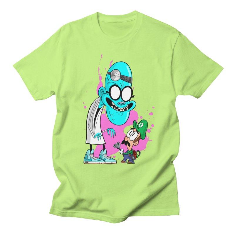 maniac mansion Men's T-Shirt by scabfarm