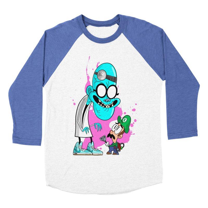 maniac mansion Men's Baseball Triblend Longsleeve T-Shirt by scabfarm