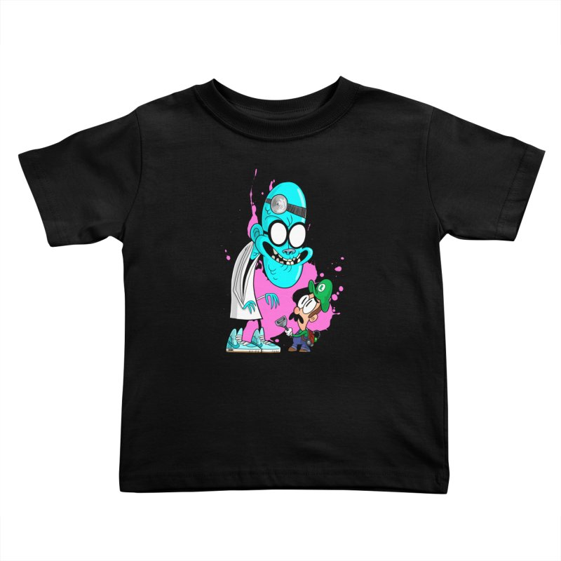 maniac mansion Kids Toddler T-Shirt by scabfarm