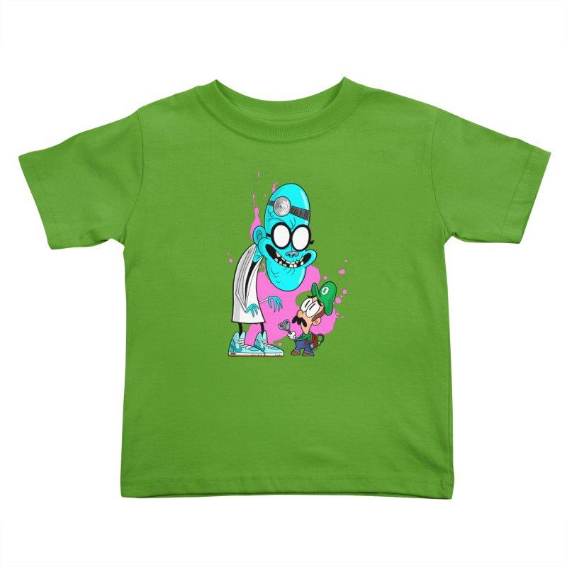 maniac mansion Kids Toddler T-Shirt by scabfarm