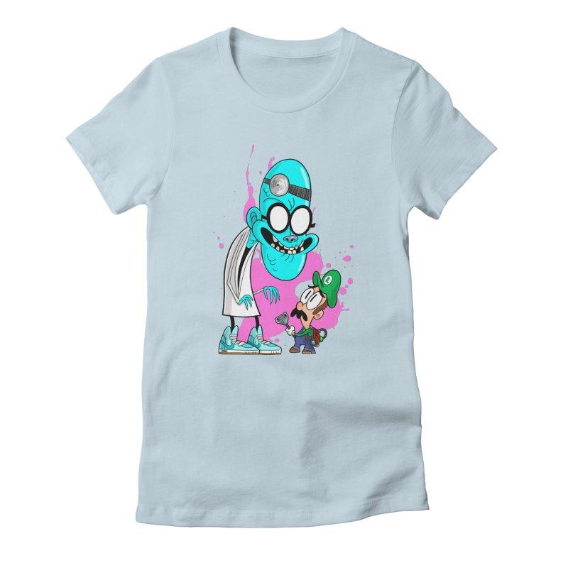 maniac mansion Women's T-Shirt by scabfarm