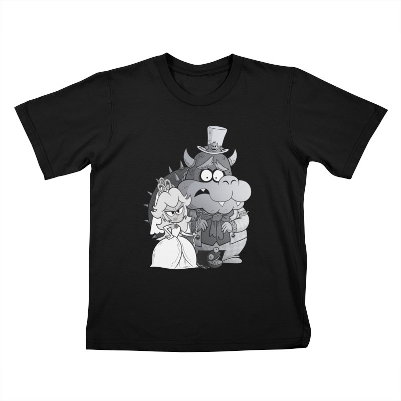 the princess bride Kids T-Shirt by scabfarm