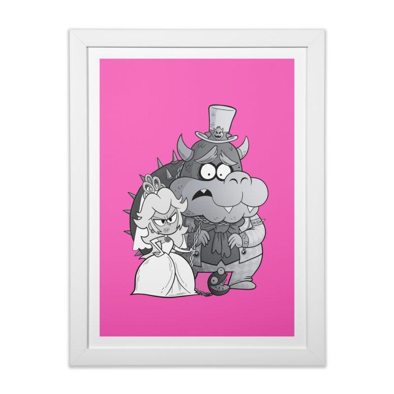 the princess bride Home Framed Fine Art Print by scabfarm