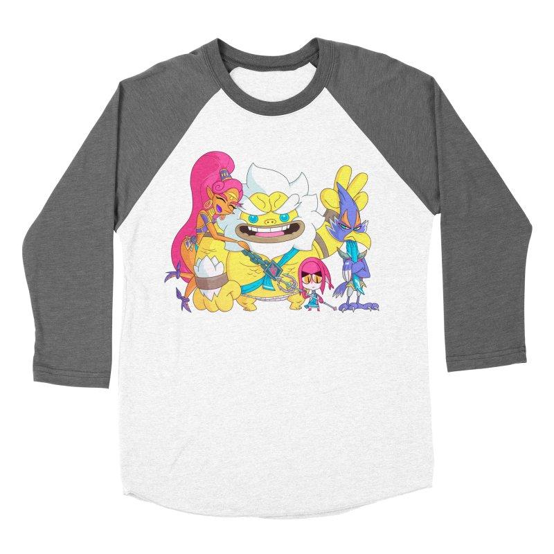 all my friends are dead Women's Baseball Triblend Longsleeve T-Shirt by scabfarm