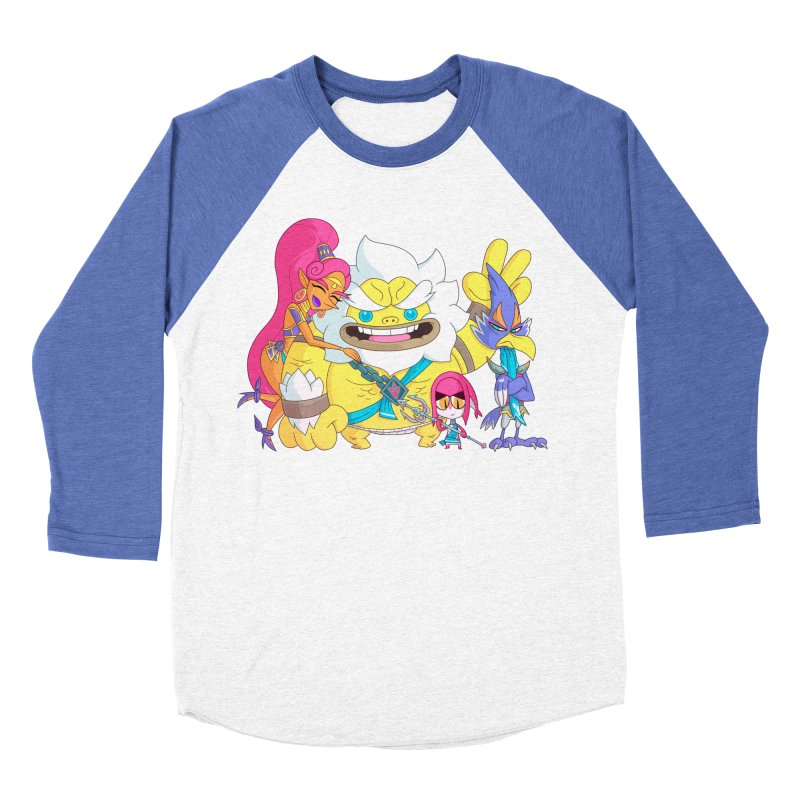 all my friends are dead Men's Baseball Triblend Longsleeve T-Shirt by scabfarm