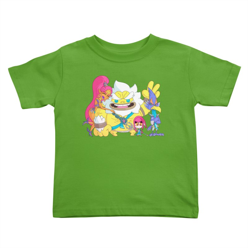 all my friends are dead Kids Toddler T-Shirt by scabfarm
