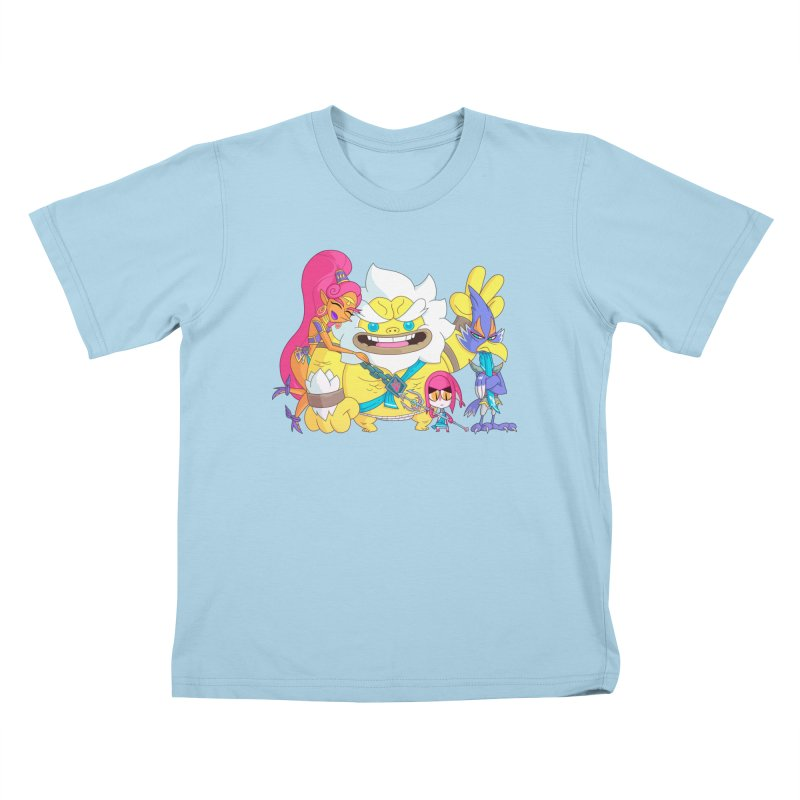 all my friends are dead Kids T-Shirt by scabfarm