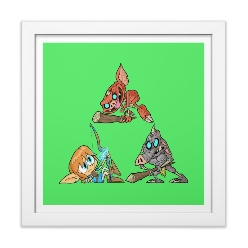 toraifosu Home Framed Fine Art Print by scabfarm