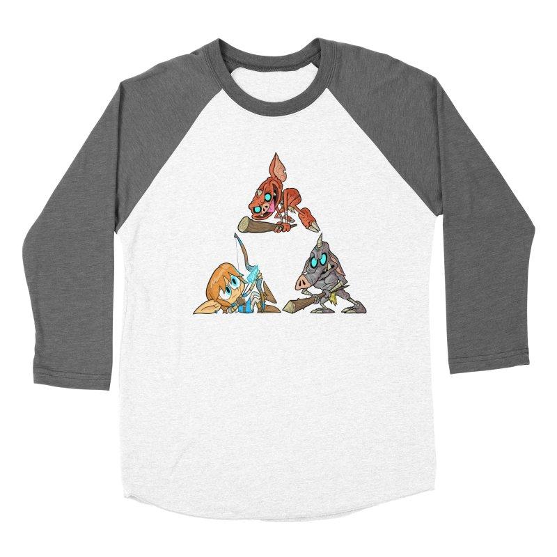 toraifosu Men's Baseball Triblend Longsleeve T-Shirt by scabfarm