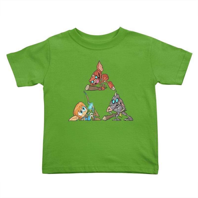 toraifosu Kids Toddler T-Shirt by scabfarm