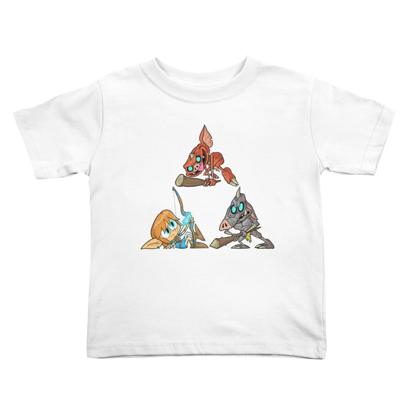 toraifosu Kids Toddler T-Shirt by scabfarm