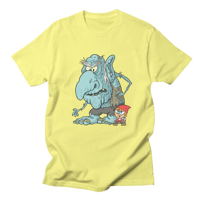 the boy and the troll Men's T-Shirt by scabfarm