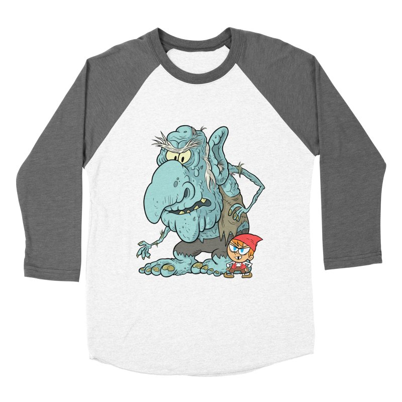 the boy and the troll Women's Longsleeve T-Shirt by scabfarm