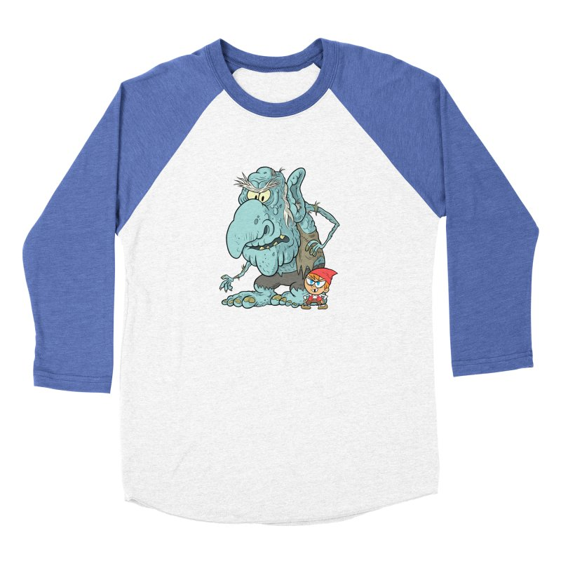 the boy and the troll Men's Longsleeve T-Shirt by scabfarm
