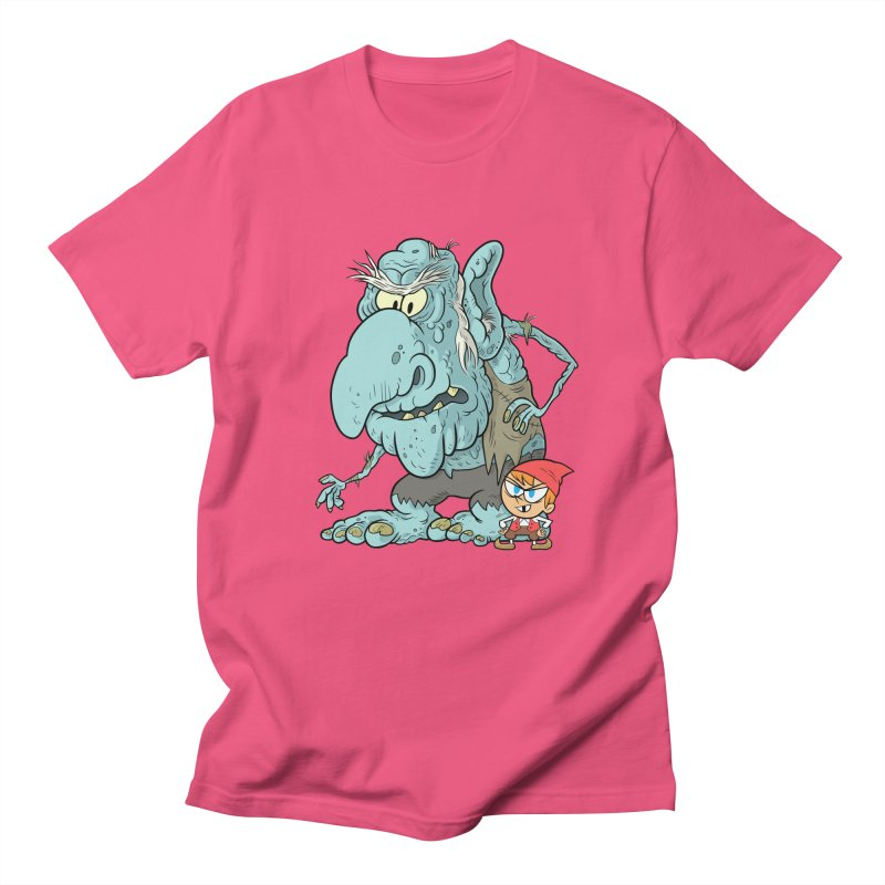 the boy and the troll Women's Regular Unisex T-Shirt by scabfarm
