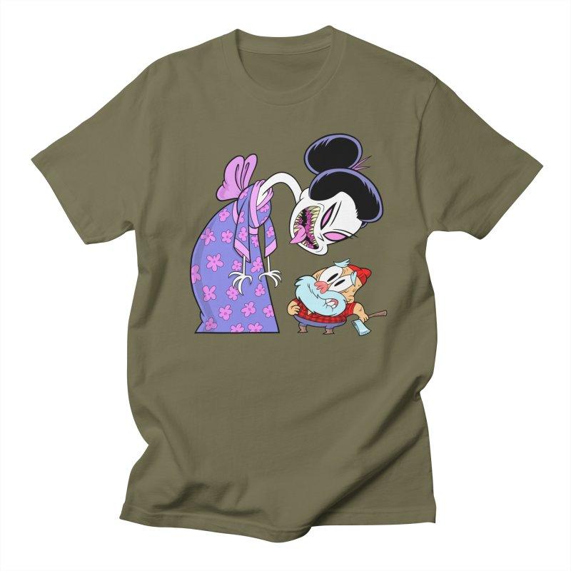 jorōgumo Men's T-Shirt by scabfarm