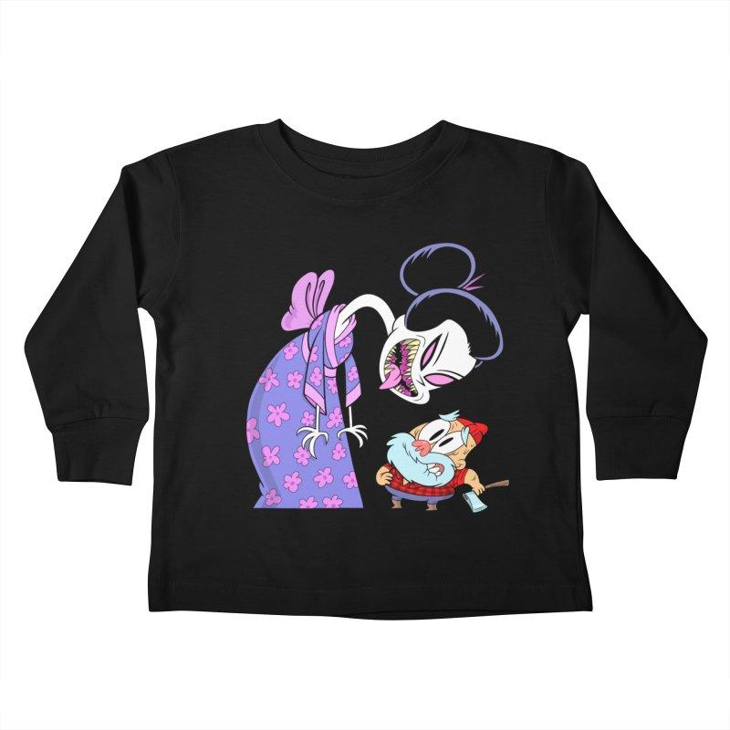 jorōgumo Kids Toddler Longsleeve T-Shirt by scabfarm