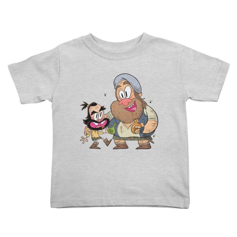 suds mackenzie Kids Toddler T-Shirt by scabfarm