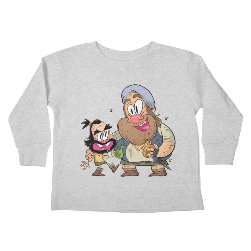 suds mackenzie Kids Toddler Longsleeve T-Shirt by scabfarm