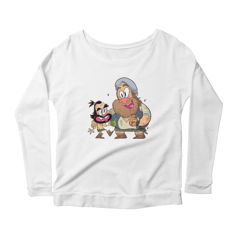 suds mackenzie Women's Longsleeve T-Shirt by scabfarm