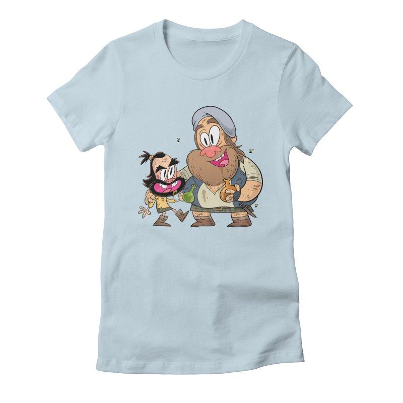 suds mackenzie Women's T-Shirt by scabfarm