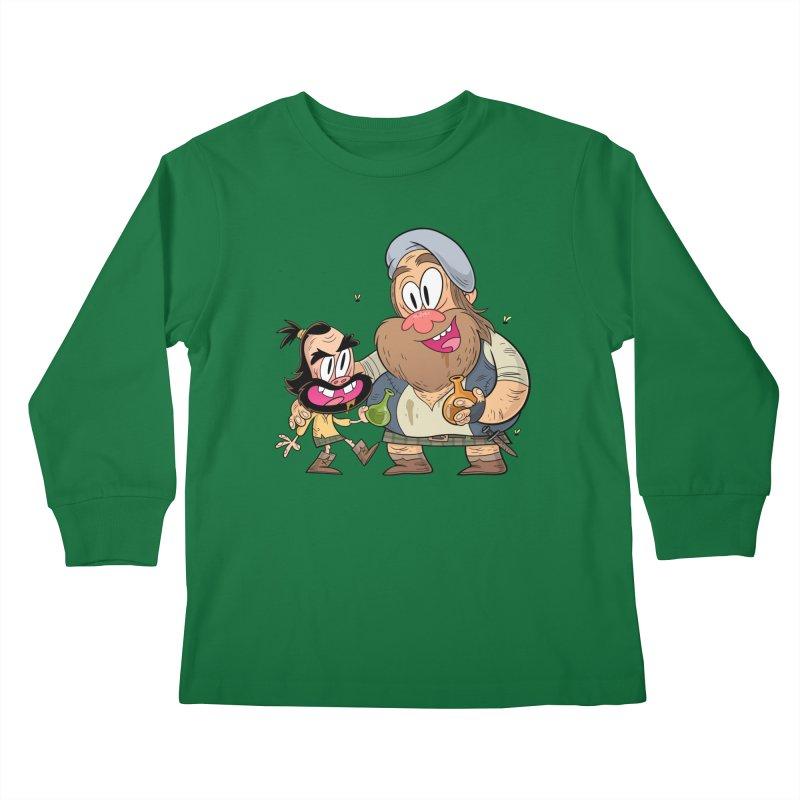 suds mackenzie Kids Longsleeve T-Shirt by scabfarm