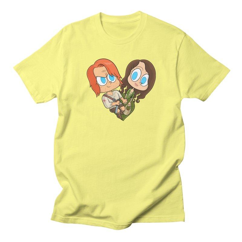 sassenach Men's T-Shirt by scabfarm