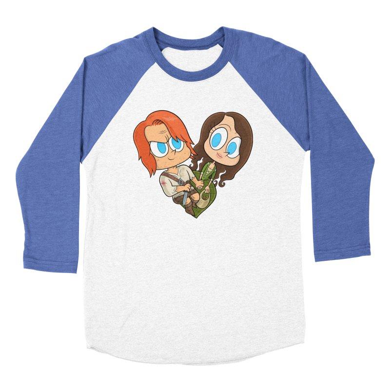 sassenach Men's Baseball Triblend Longsleeve T-Shirt by scabfarm