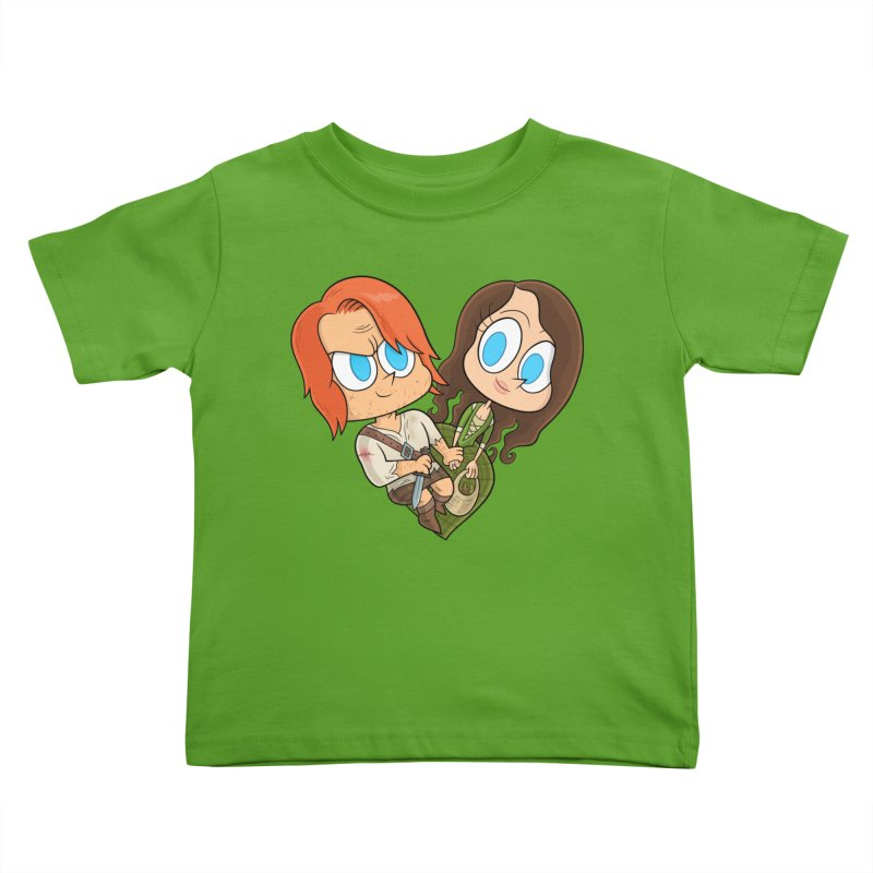 sassenach Kids Toddler T-Shirt by scabfarm