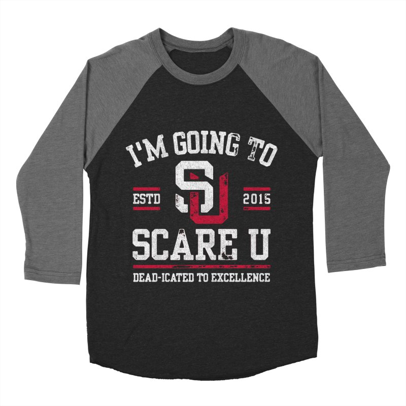 Going To Scare U Women's Baseball Triblend T-Shirt by Scare U
